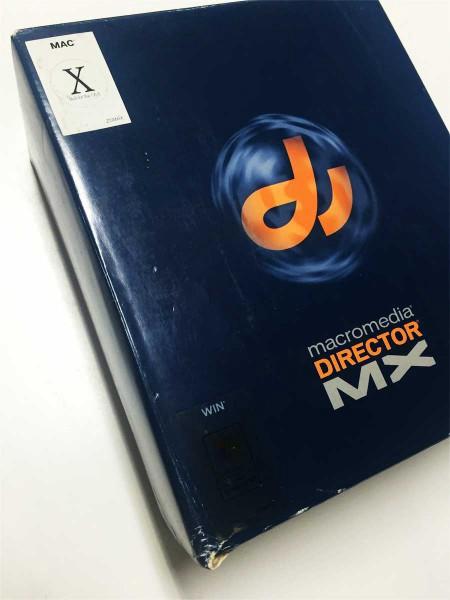 也屬於「大包裝」的Macromedia Director。