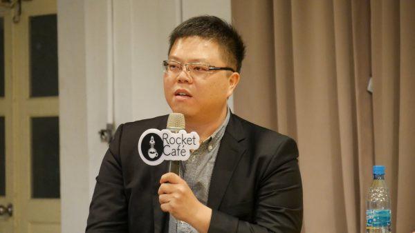 Verint台灣分公司總經理吳明蔚博士。